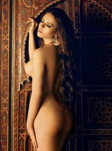 Nadine Svitalskaya - Playboy