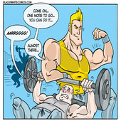 Blacknwhitecomics - Xtreme Fitness 1-2