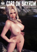 Ciri in Skyrim by Tinkerbomb