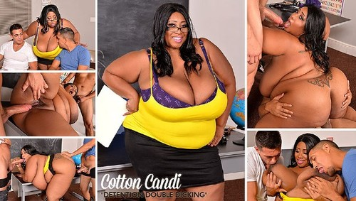 Cotton Candi   46M breasts Detention Double Dicking HD