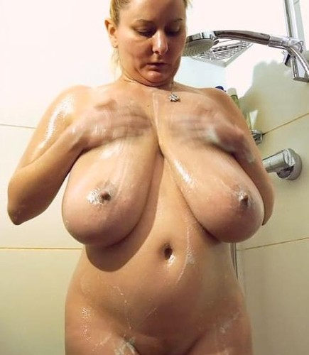 Natasha – Large Breasted Women  Nude In The Shower  HD 720p