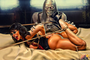 Celebs Dungeon BDSM Artwork
