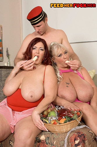 Peaches LaRue, Shugar – Two Busty BBW Tasty Ladies Threesome Hardcore