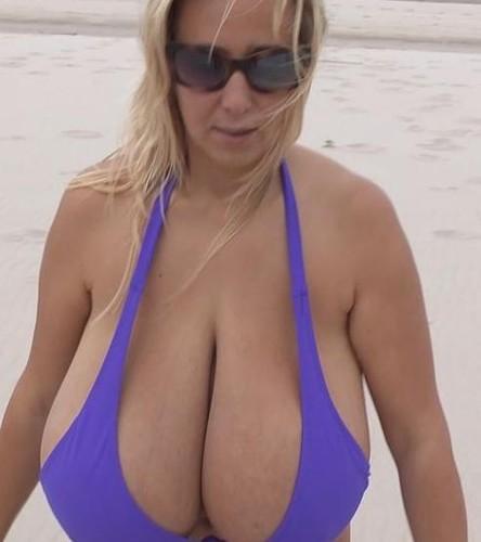 Abbi Secraa –  Gigantic Breasts No Trains, Empty Beaches FullHD 1080p