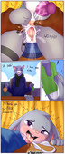 Spunkubus - Flustered Fun Time - Zootopia sex comic