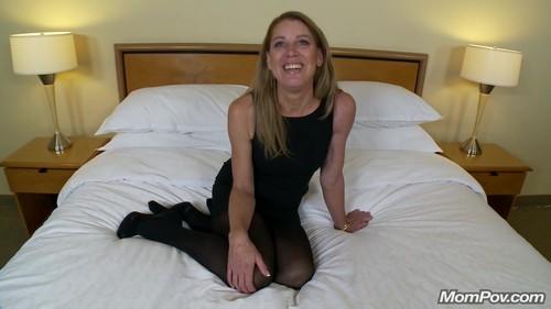 Mompov.com - Liz 47 year old divorcee needs cock