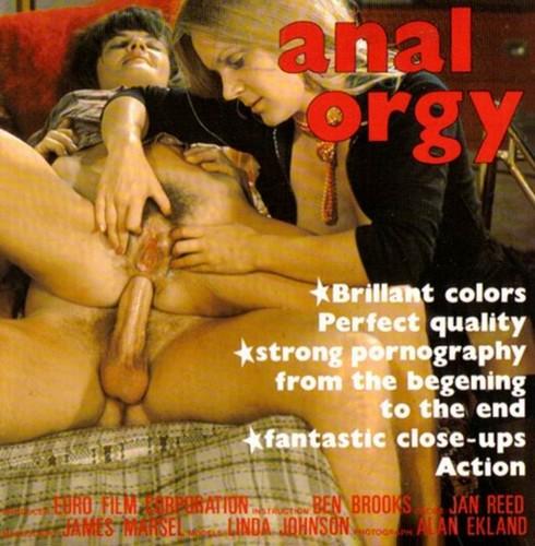 Danish filmed  - Anal Orgy  (1970s) VHSRip