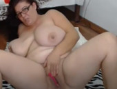 Sex Hungry Widow With Heavy Hangers