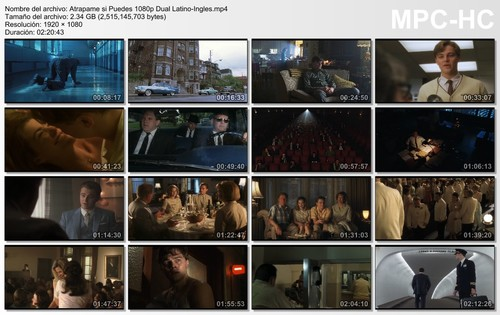 Atrápame Si Puedes (Catch Me If You Can)(2002)[1080p] [Latino-Ingles][ZS]