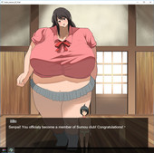 Soryuu4 - Just simply joining a giantess women's sumo wrestling club