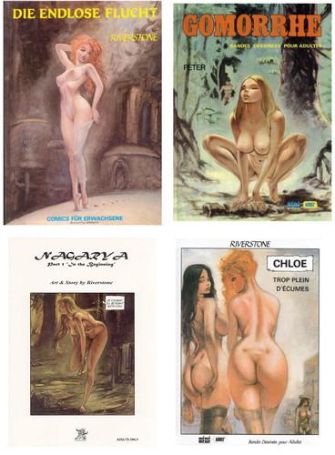 Riverstone (Adult Comics) eng,ger,fra Cover