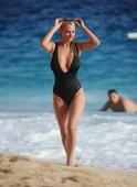 Rhian sugden gets her boob groped at the beach