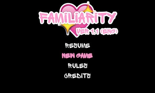 Familiarity - Version 1.1