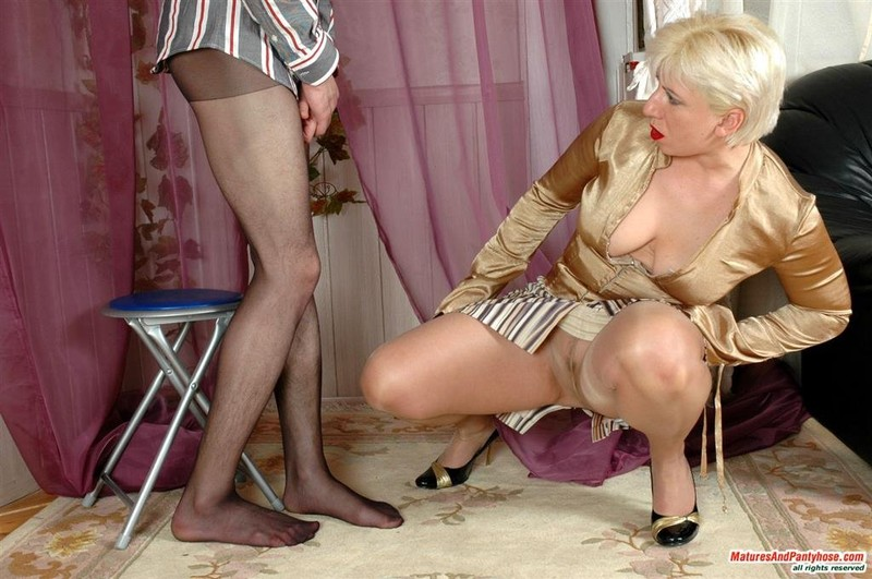 Is what matures and pantyhose is all