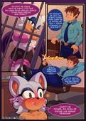 SciFiCat - La Noche de la Murcielago Blanco Sonic The Hedgehog